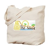 Funny Tiki Tote Bag
