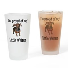 Little Weiner Drinking Glass