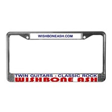 Wishbone Ash License Plate Frame