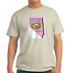 Nevada Brothel Security Ash Grey T-Shirt