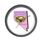 Nevada Brothel Security Wall Clock