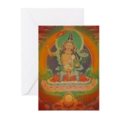 Manjusri Buddha Card (Pk of 10)