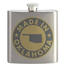 Made-In-OKLAHOMA Flask