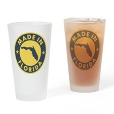 2-Made-In-fLORIDA Drinking Glass