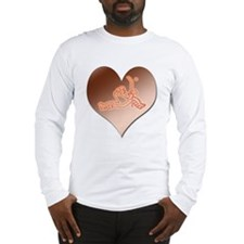 Heartminder (copper) Long Sleeve T-Shirt