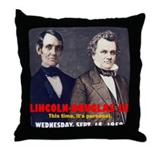ART LINCOLN DOUGLASS IIIb Throw Pillow