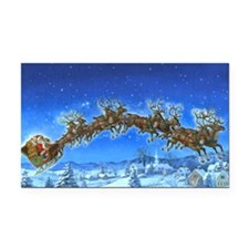 HO HO HO_poster Rectangle Car Magnet