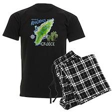 rhodes_map_t_shirt pajamas