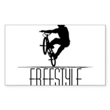 Freestyle BMX!! Rectangle Decal