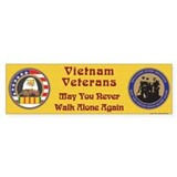 Vietnam Veteran Bumper Bumper Sticker