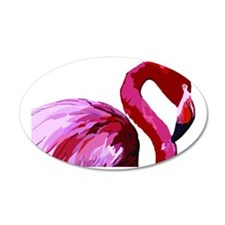 2-CafePress Flamingo.eps Wall Decal