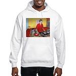 El DJ Booth Hooded Sweatshirt