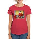 El DJ Booth Women's Dark T-Shirt