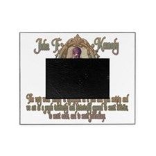 2-JFK on Secret Societies darks Picture Frame