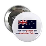 Australian Twin (Perfect) Button