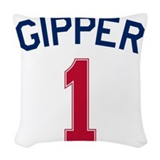 Gipper #1-2 Woven Throw Pillow