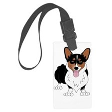 Corgidark Luggage Tag