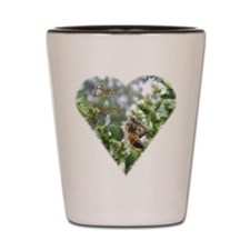 BeeMineHeart Shot Glass