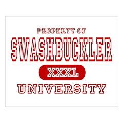 Swashbuckler University Posters