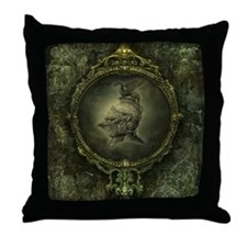 Knight Fantasy Throw Pillow