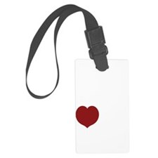 doesnyloveuback_white Luggage Tag