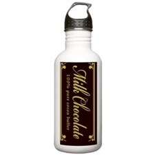MilkChocolate_iphone_c Water Bottle