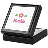 Pink Daisy - &quot;Zoie&quot; Keepsake Box