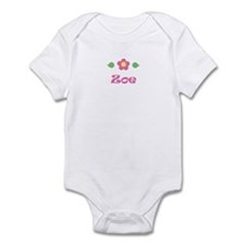 "Pink Daisy - ""Zoe"" Infant Bodysuit"