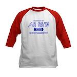 .40 S&W University Kids Baseball Jersey