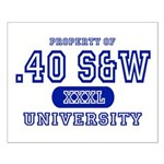 .40 S&W University Small Poster