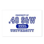 .40 S&W University Postcards (Package of 8)