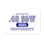 .40 S&W University Mini Poster Print