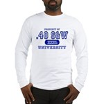 .40 S&W University Long Sleeve T-Shirt