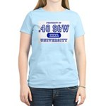 .40 S&W University Women's Pink T-Shirt