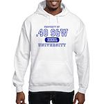 .40 S&W University Hooded Sweatshirt