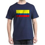 Colombia Colombian Blank Flag Blue T-Shirt