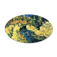 Van Gogh - The Little Stream Wall Decal