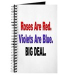 Roses are Red Anti-Valentine Journal