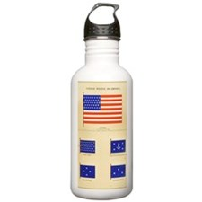 US Maritime Flags Pt1 Water Bottle
