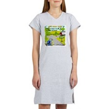 pipe creek (2) Women's Nightshirt