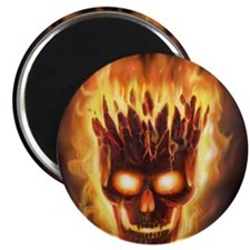 skull bonies head explodes big Magnet