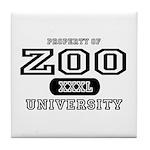 Zoo University Tile Coaster