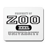 Zoo University Mousepad