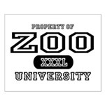 Zoo University Small Poster
