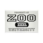 Zoo University Rectangle Magnet