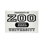 Zoo University Rectangle Magnet (10 pack)