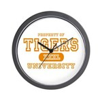 Tigers University Wall Clock