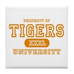 Tigers University Tile Coaster