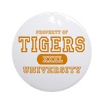 Tigers University Ornament (Round)