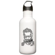 free julian assange Water Bottle